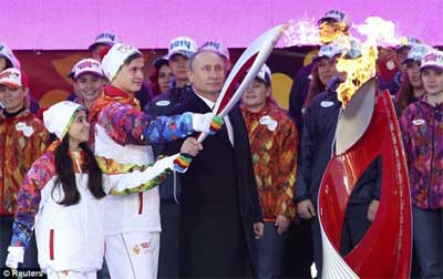 Putin in Sotchi